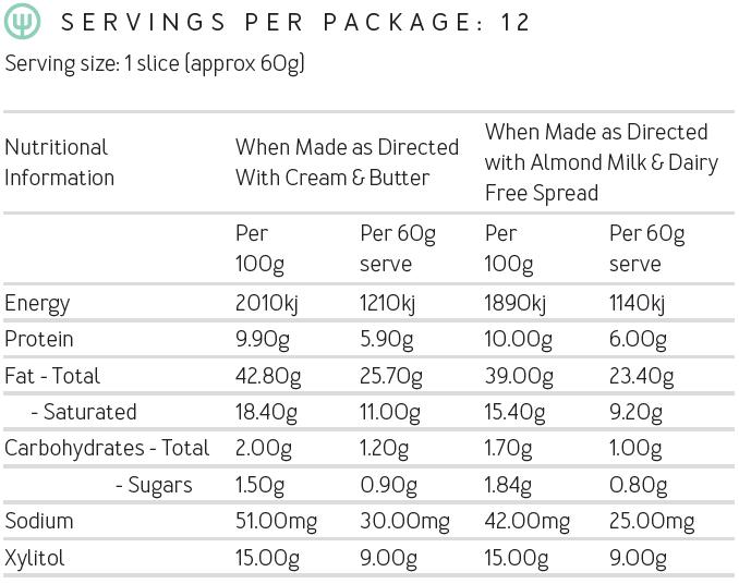 Gluten free caramel cake mix with caramel frosting | Keto baking | 180 Cakes Perth WA